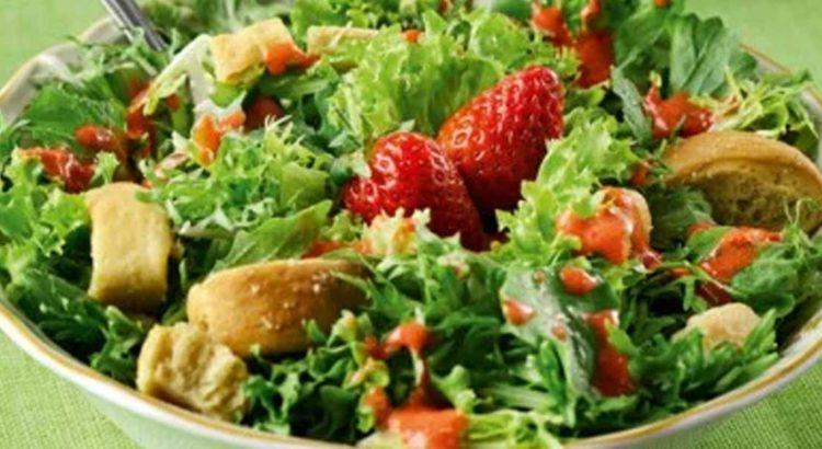 Η σαλάτα της Λουλού η Πρασινομαρουλίτσα